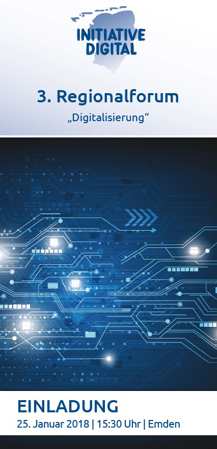 Flyer 3. Regionalforum Digitalisierung