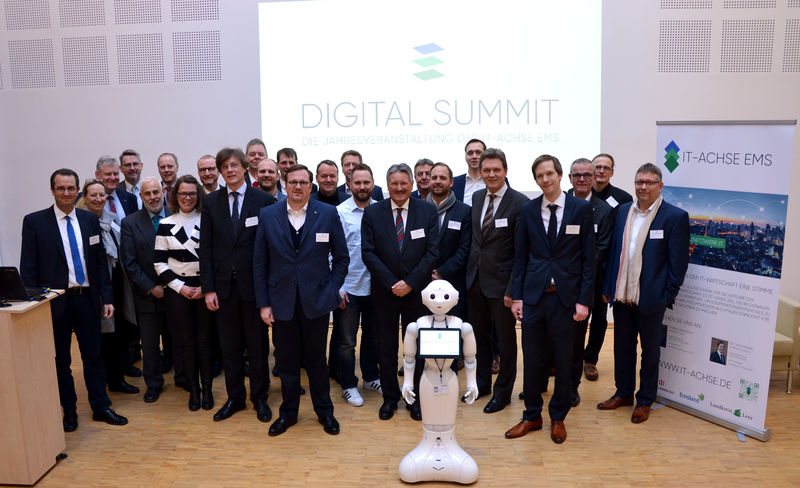 Gruppenfoto Digital Summit 2018